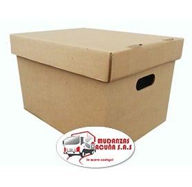 caja para mudanza de oficina archivo