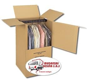 caja armario para mudanzas